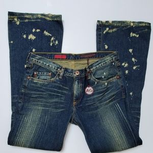 AG The Angel Flared Bell Bottom Jean